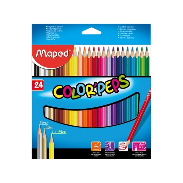 "Farbičky MAPED ""COLOR PEPS"" /24"